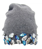 DIY Beanie with studs